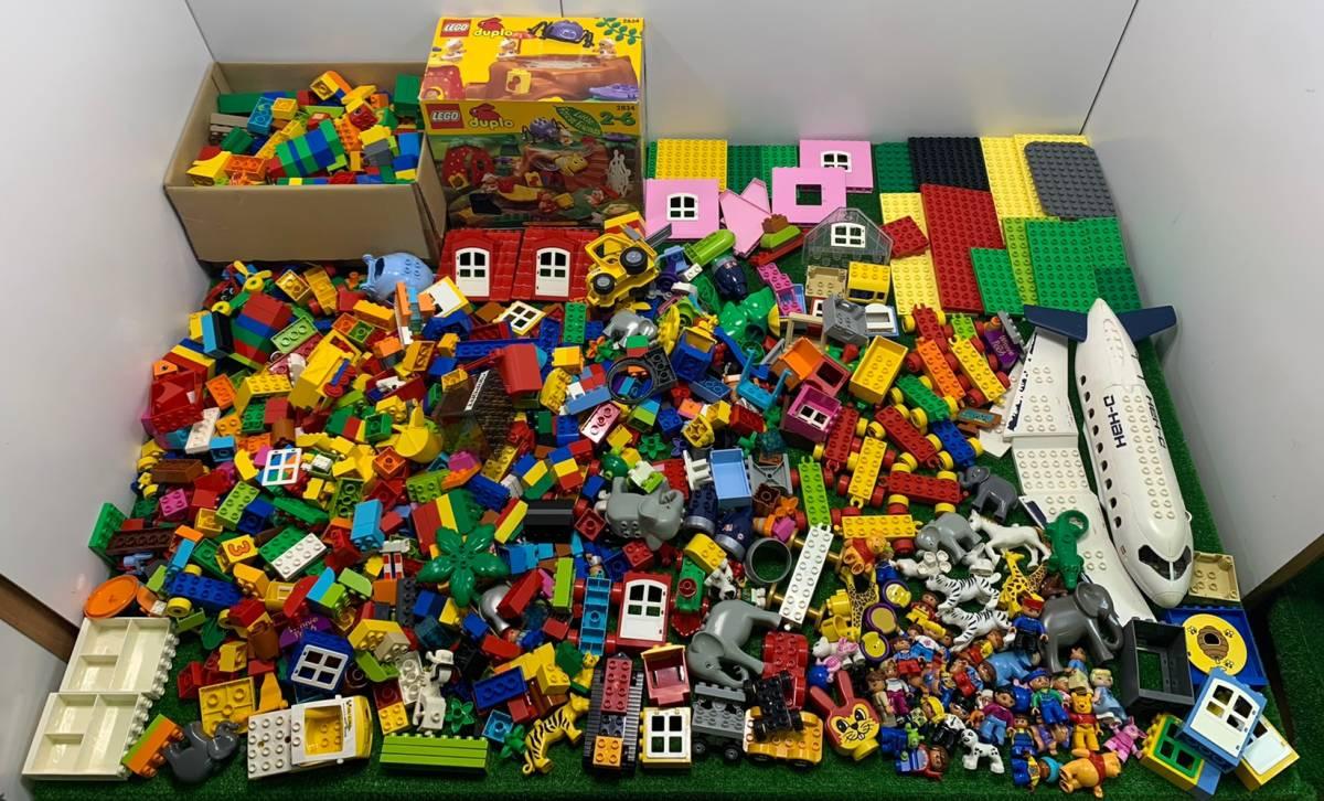 ♪11-160 レゴ LEGO デュプロ duplo ジャンク品 ディズニー Disney 飛行機 動物 住民 ブロック パーツ 部品 おもちゃ 玩具 まとめて 大量