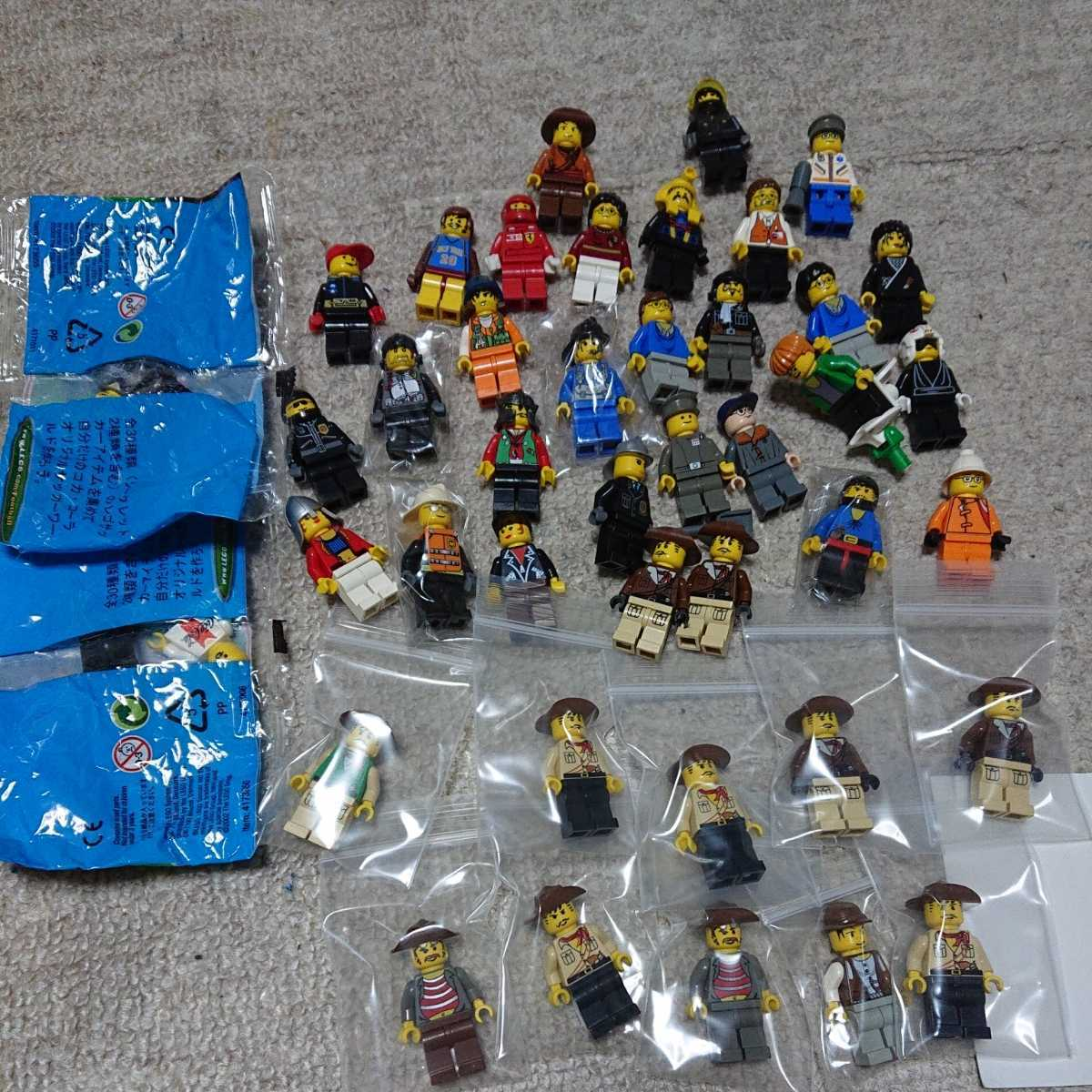 レゴ LEGO ミニフィグ たくさんセット