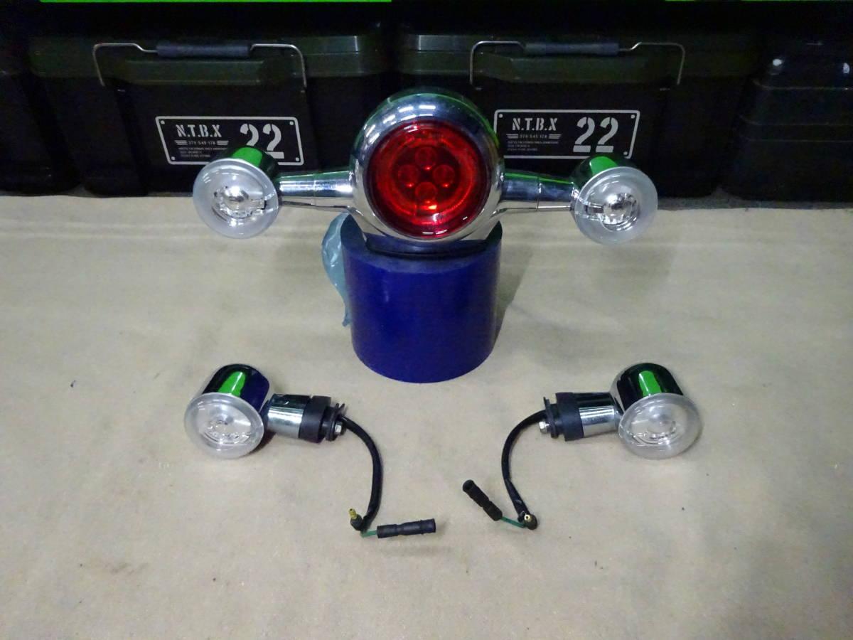 モンキー125 ABS JB02 純正LED テールランプ ウィンカーセット 低走行 美品 検索 ABS Monkey 125 グロム GROM ヨシムラ 武川 Gクラフト
