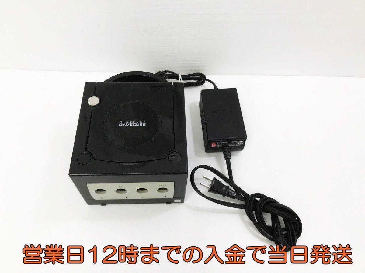 【1円】NINTENDO GAMECUBE ブラック GC 本体のみ 動作確認済 任天堂/Nintendo 1A0739-061yy/F4