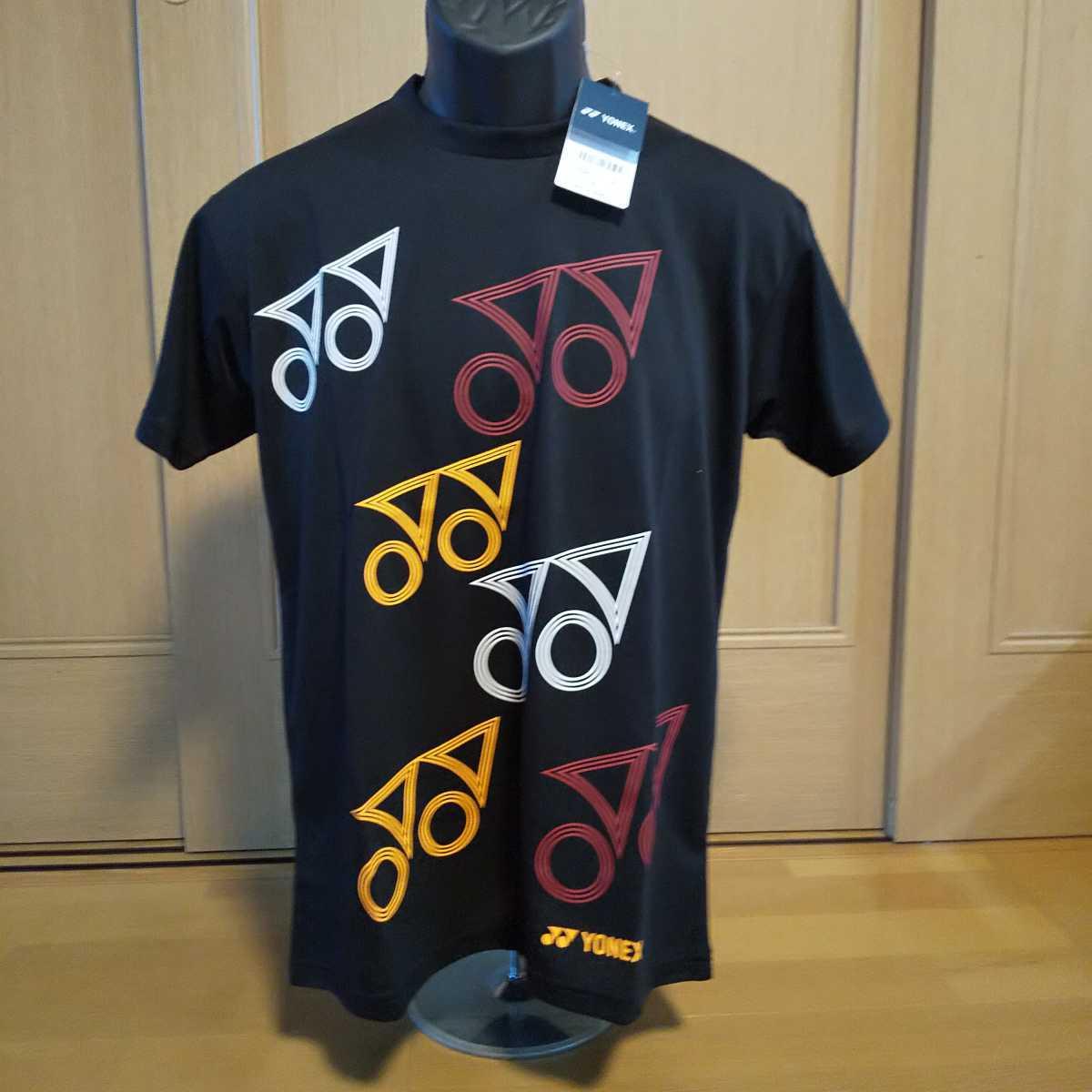 ヨネックス「YONEX』ドライTシャツ サイズ(S) カラー/ブラック(007)本体価格¥3,800+税★未使用品★送料無料