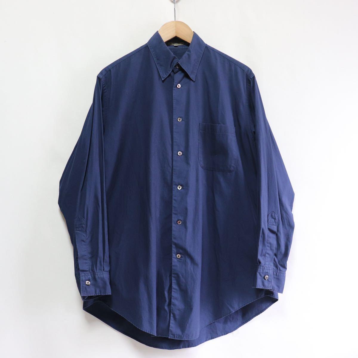 希少【Y's for men Yohji Yamamoto】ビッグシルエット/シャツ 長袖シャツ/S/ワイズ ヨウジヤマモト