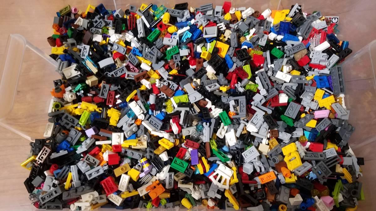 レゴ パーツ バラ 1×1 1×2 など 細かなパーツ 大量 1キロ以上 クリップ コーン タイル など 正規品 大量出品 同梱可能 LEGO