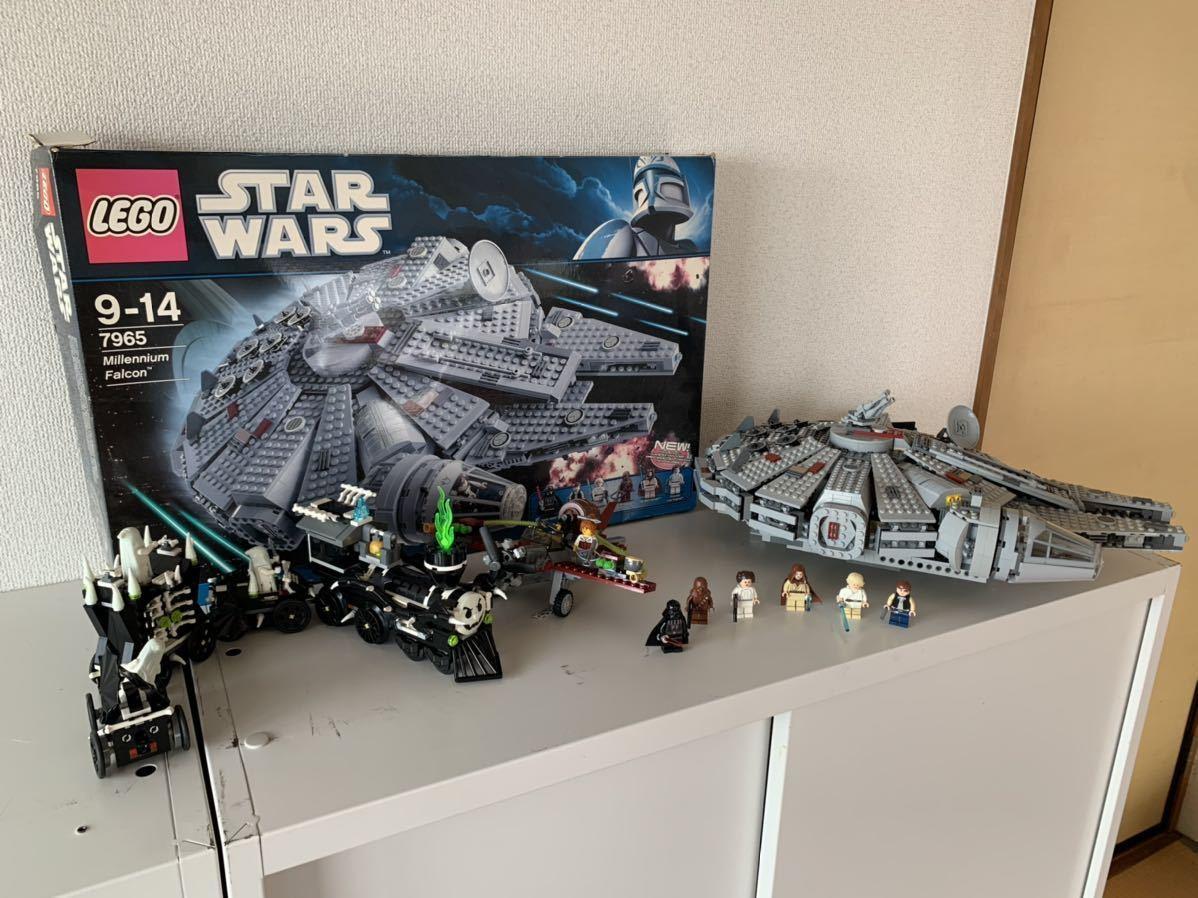 LEGO スターウォーズ STAR WARS レゴスターウォーズ ゴーストトレイン 9467 ミレニアム ファルコン 7965