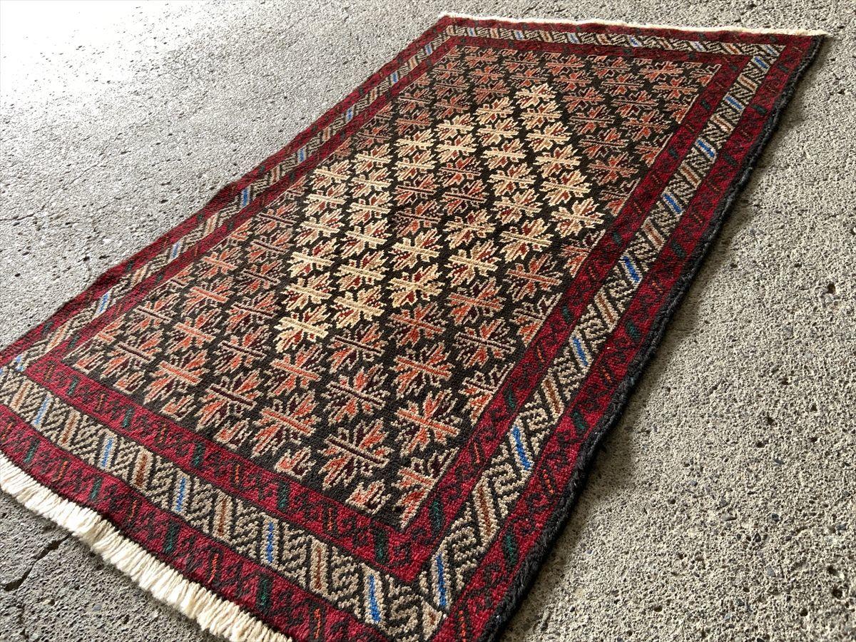 156×97cm ペルシャ絨毯 絨毯 ラグ アンティーク家具 マジック カーペット 01AMBRM210901010D