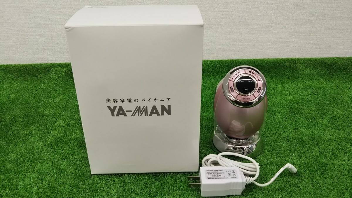 ☆中古 家庭用美容機器 美顔器 RFボーテ キャビスパRFコア ピンク YA-MAN ヤーマン HRF-17P 美品