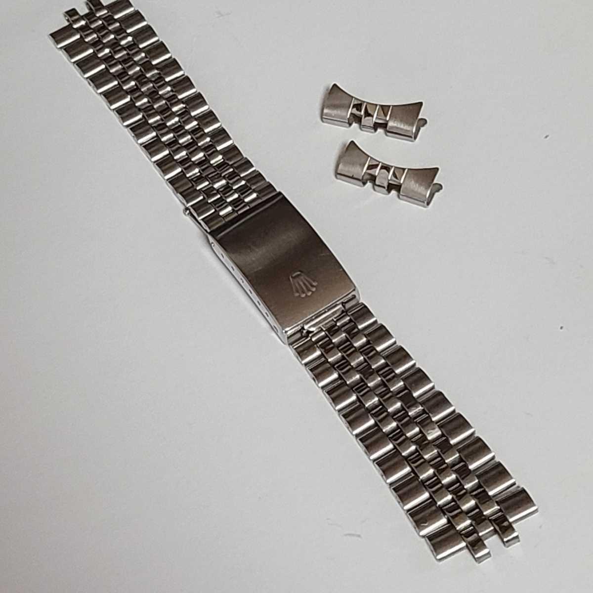 ROLEX ロレックス 純正ジュビリー巻きブレス 62510H S8 ラグ幅20mm FF55