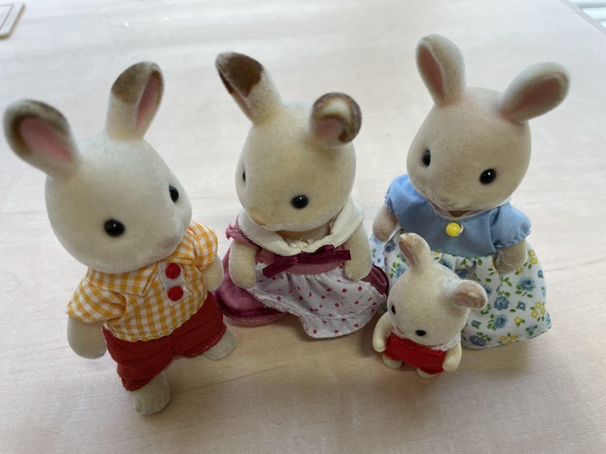 【中古】シルバニアファミリー ショコラウサギ等