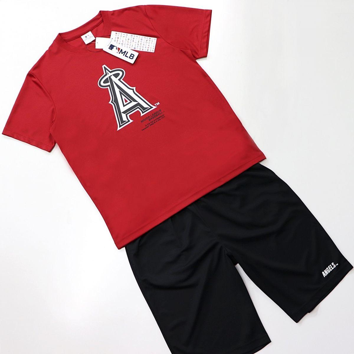 ★ロサンゼルス・エンゼルス Los Angeles Angels MLB 公式 メジャーリーグ メンズ 上下セット スーツ [SETC2130MA-05-LL]一 五 参★QWER★