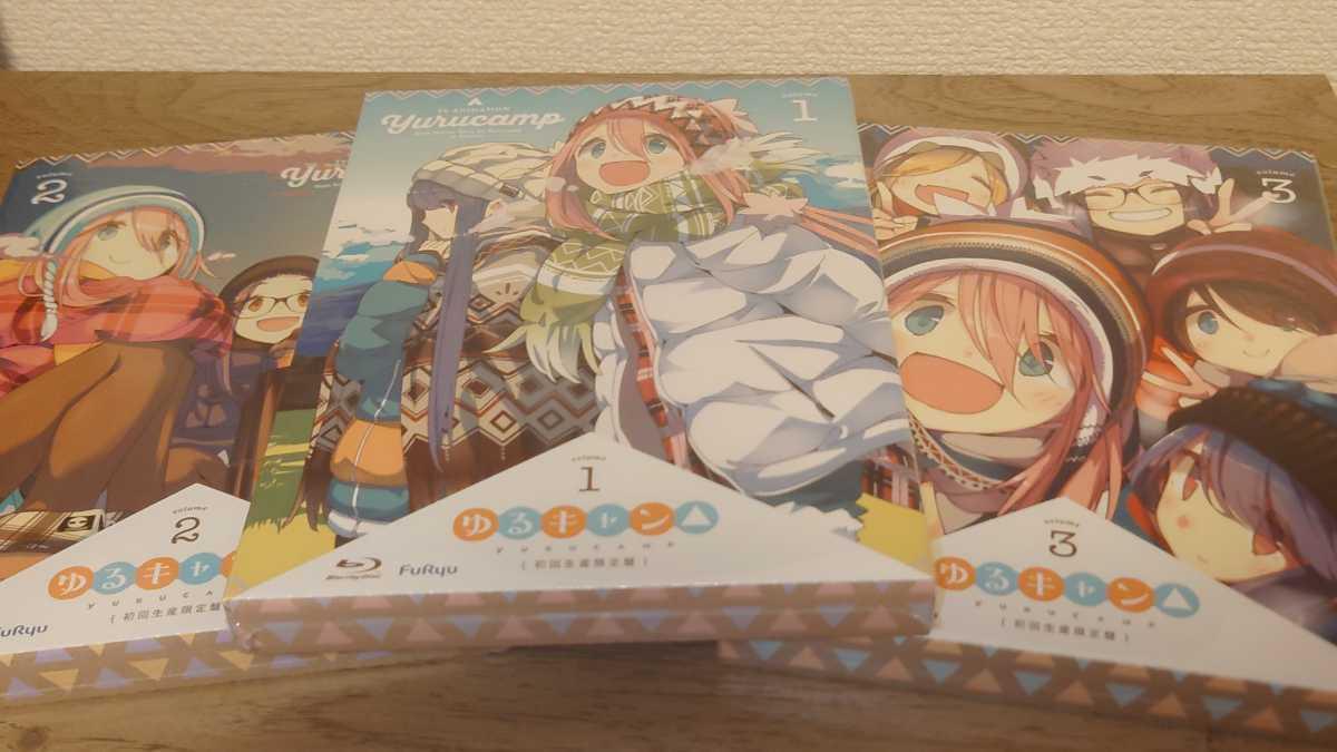 【未開封】 ゆるキャン△ 1期 Blu-ray
