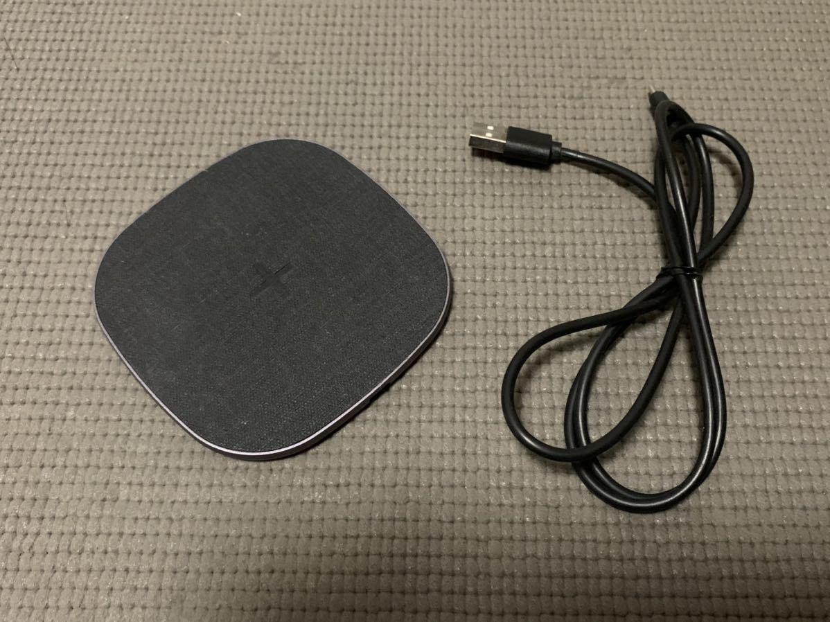 ワイヤレス充電器 amazon購入 iphone